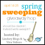 2nd Annual Spring Sweeping Giveaway Hop